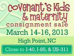 Covenant's Kids and Maternity Consignment Sale