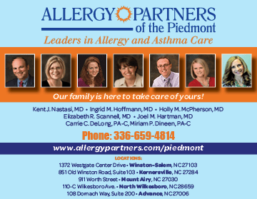 Win a $100 Visa Gift Card from Allergy Partners of the Piedmont!