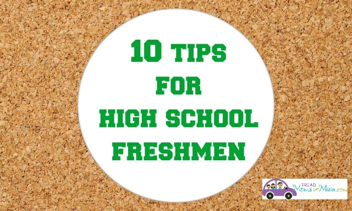 10 Tips for High School Freshmen