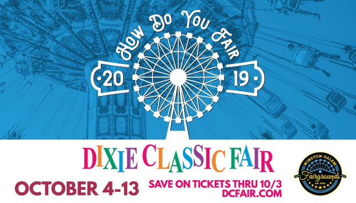 Oct. 4 – 13, 2019: The Dixie Classic Fair