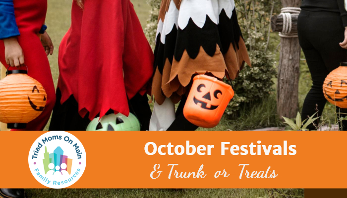 2019 October Festivals and Trunk-or-Treats