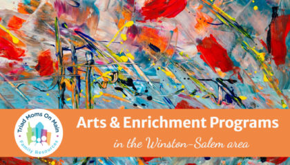 Arts & Enrichment Programs in Winston-Salem and Surrounding Areas