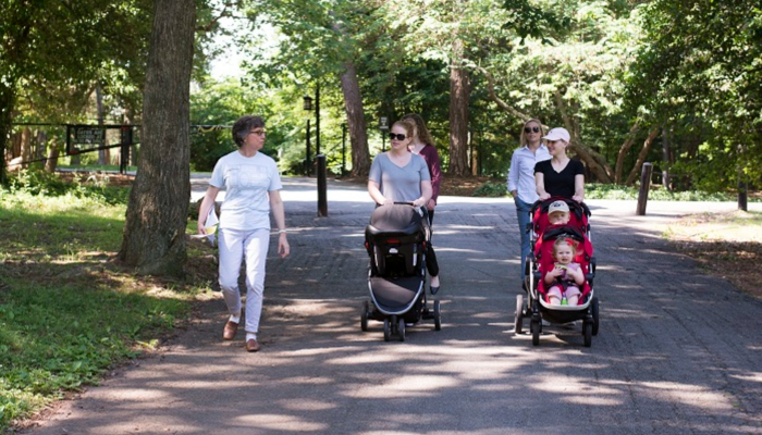 May & June 2021: Outdoor Stroller Tours at Reynolda